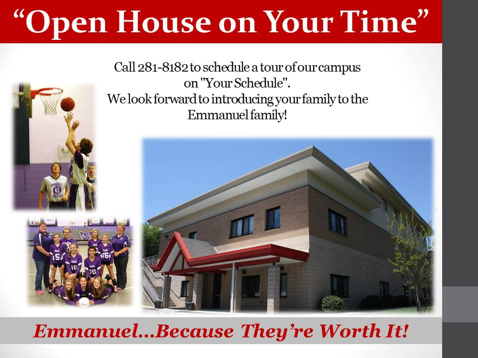 Open House on YOur time rev